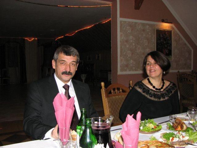 Рыбчанская Ирина с мужем