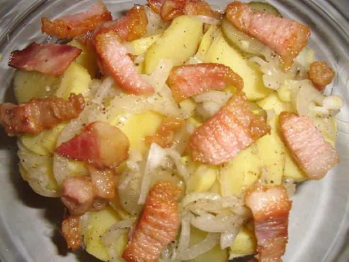 Миниатюра к статье Немецкий картофельный салат