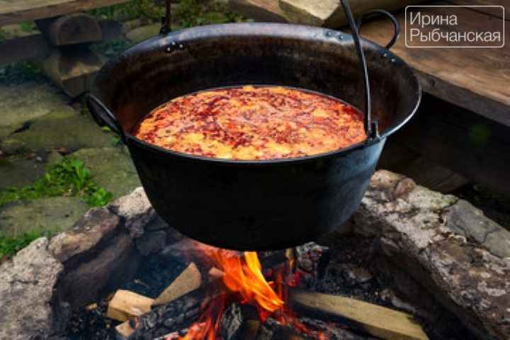 Миниатюра к статье Гуляш по-венгерски— классический и народный рецепт приготовления