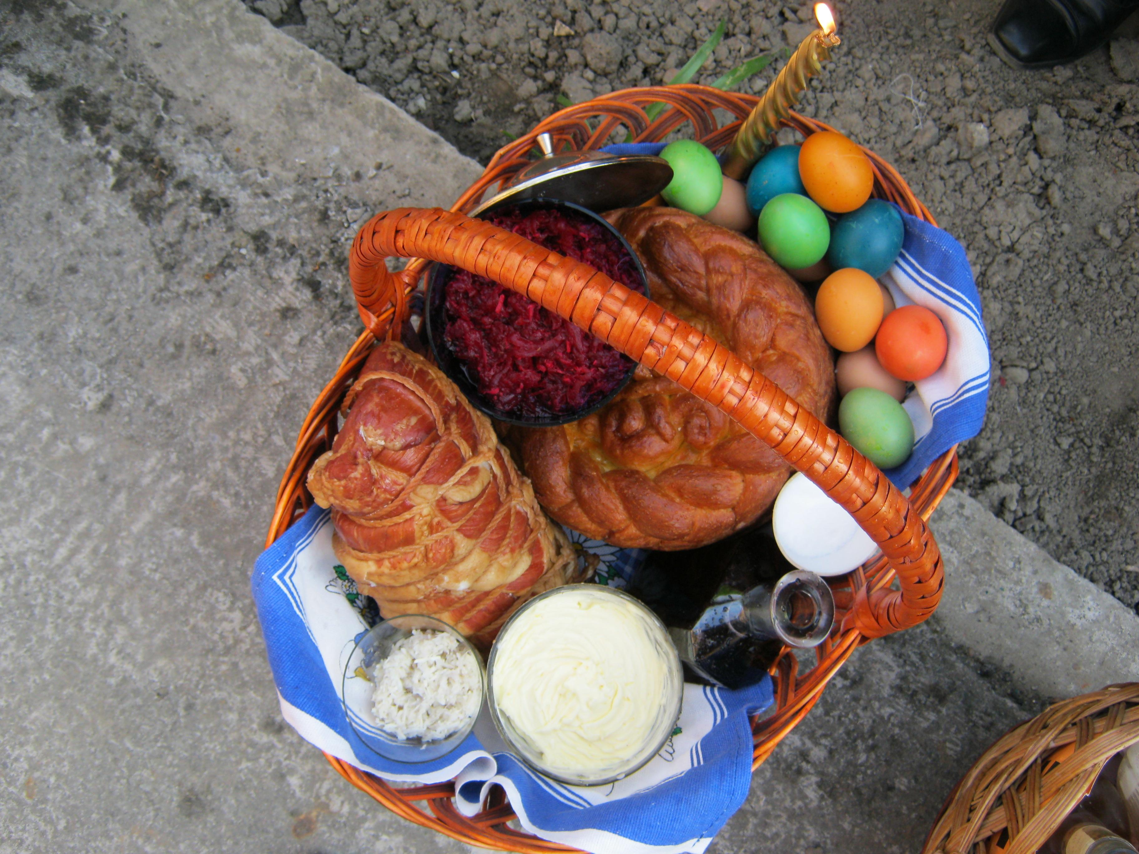 Пасхальные традиции Закарпатья Великая суббота