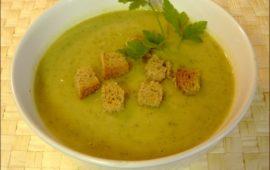 Суп крем из кабачков