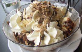 Бисквитный десерт Шомлои галушка