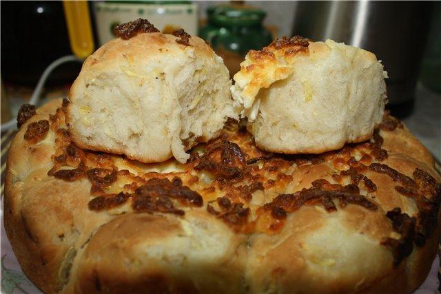 Необычный хлеб для пикника