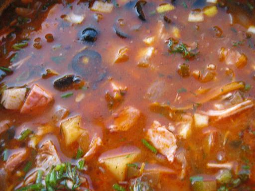 Солянка сборная мясная рецепт