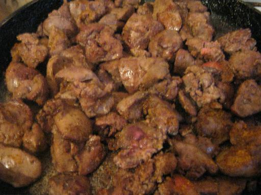Куриная печень рецепты