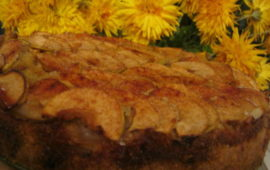 Тающий во рту яблочный пирог шарлотка