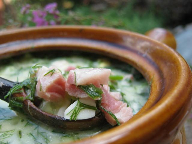 Рецепт настоящей русской окрошки на квасе