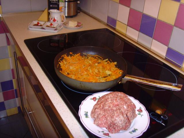 Фарш для приготовления лазаньи