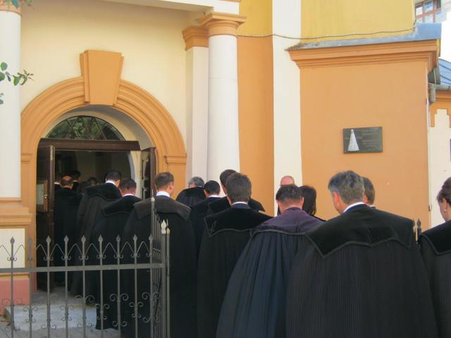 Интересная церемония в реформатской церкви