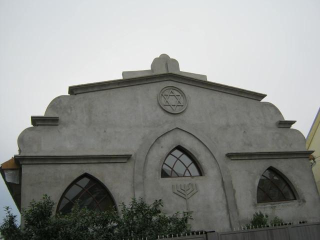 Реставрация синагоги в Берегово