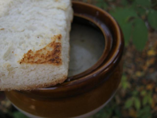 Суп из белых грибов, фото