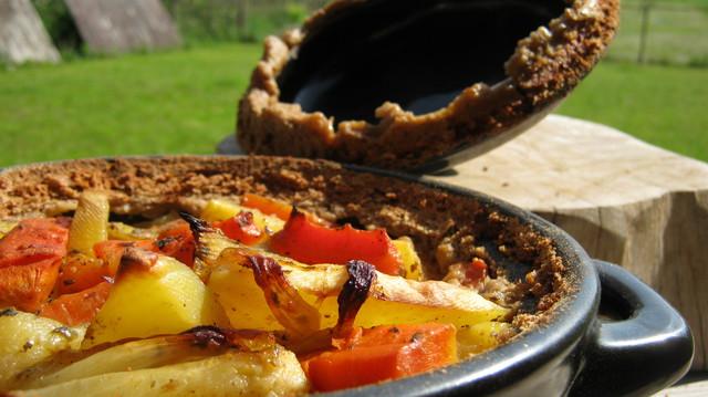 Картошка в горшочках— есть варианты