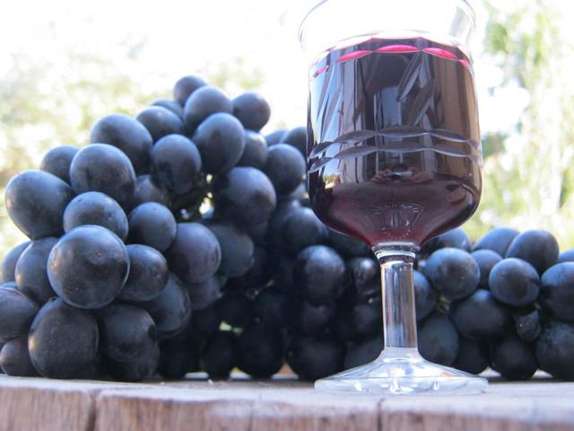Красное вино для маринада