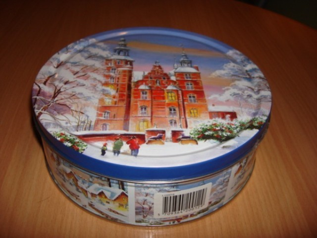 Коробка для хранения рогаликов