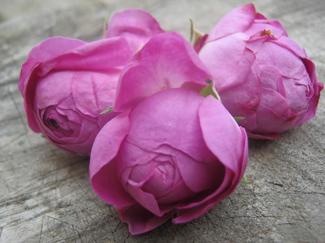 Варенье варят из лепестков дамасских роз