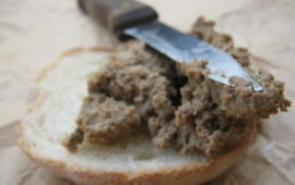 Паштет из свиной печени— рецепт с вариациями