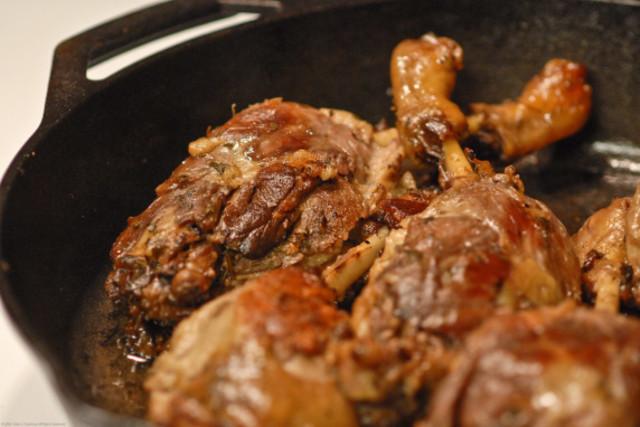 Конфи из утки в духовке