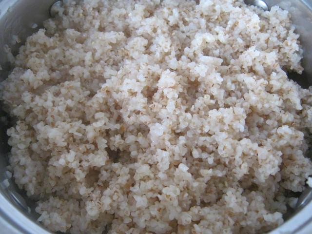 Готовая пшеничная каша
