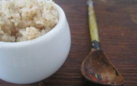 Пшеничная каша - как варить на воде