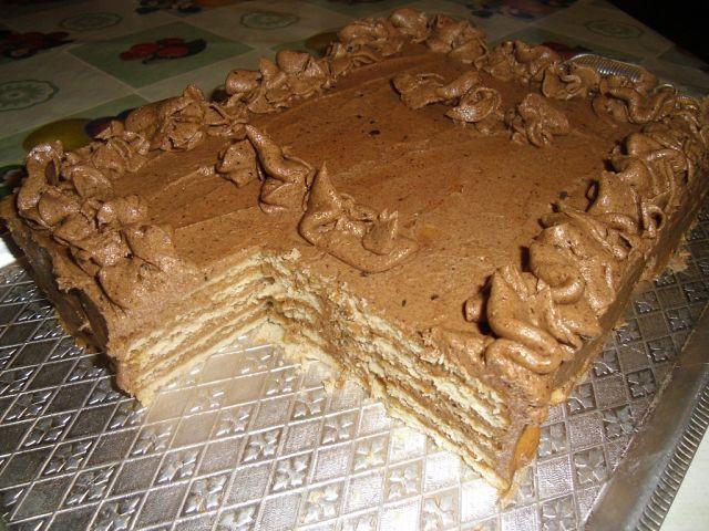 Торт из печенья— изысканный вкус и простота