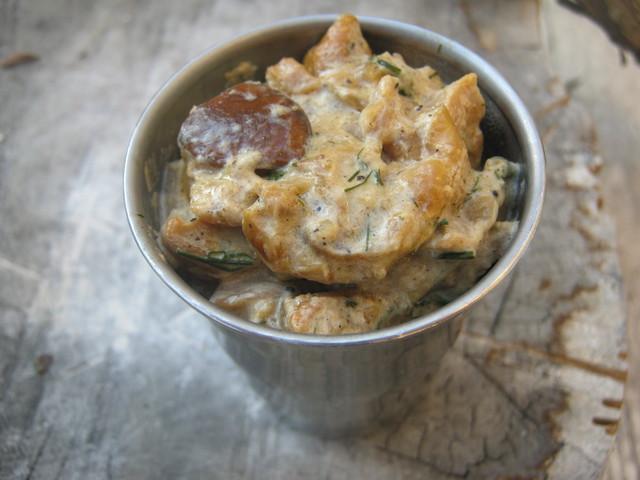 Грибной соус с ароматом лета