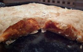 Пирог из теста фило с тыквой— греческий привет венскому штруделю