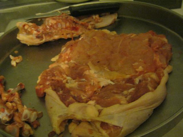 Снимаем мясо с костей