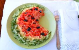 Салат арбузная долька: ваши гости будут в восторге