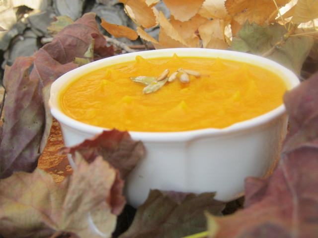 Крем суп из тыквы фото