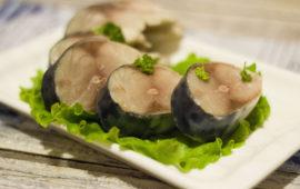 Нежнейшая маринованная скумбрия с ностальгическим привкусом моря