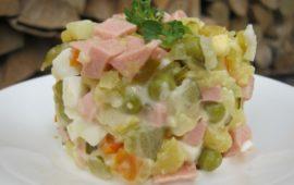 Ингредиенты салата Оливье: дореволюционные, советские, новомодные