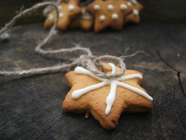 Рождественское имбирное печенье: ароматное украшение для елочки