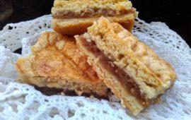 Простой деревенский яблочный пирог из песочного теста