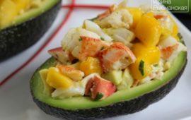 Мои любимые рецепты салата из авокадо