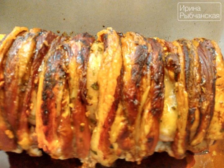 Свиной карбонат в духовке