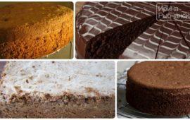 Мои любимые рецепты бисквитов для торта
