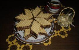 Торт из готовых вафельных коржей с кремом: весьма оригинальный рецепт с авторскими фото