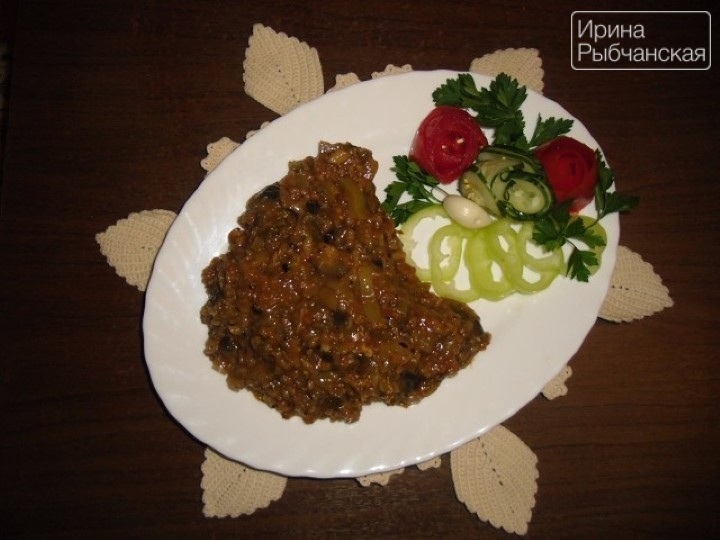 Проверенный рецепт аджапсандала от знатной тбилисской кулинарки