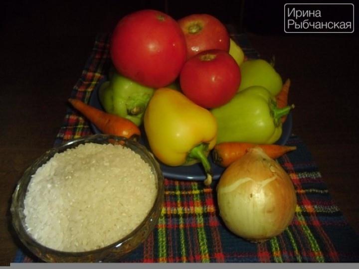 Миниатюра к статье Соблазнительно вкусный перец фаршированный овощами и рисом