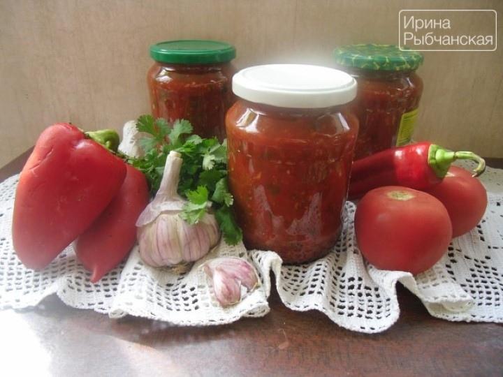 Как в домашних условиях заготовить грузинский соус сацебели на зиму?