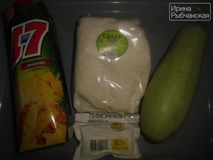 Миниатюра к статье Как приготовить северные ананасы из кабачков в ананасовом соке?