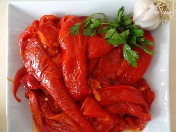 Острый перец на зиму по-армянски