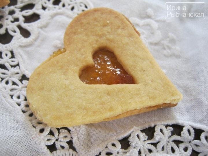 Песочное печенье на смальце рецепт с фото