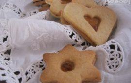 Традиционное венгерское нежное рождественское печенье на смальце