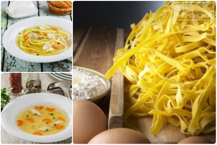 Как приготовить домашнюю лапшу для обалденного куриного супа