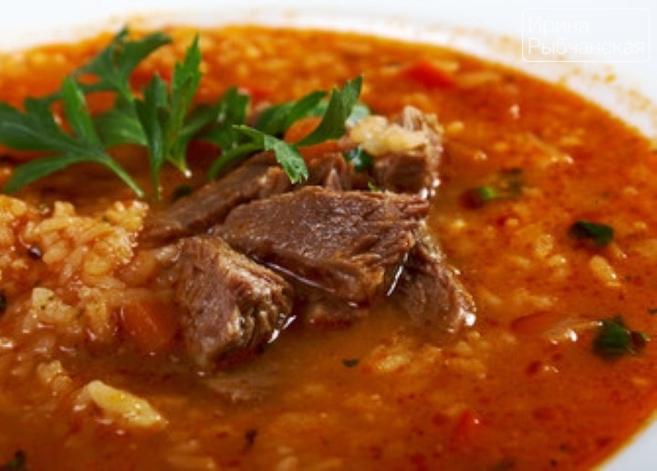 Миниатюра к статье Как сварить суп харчо по самому простому рецепту