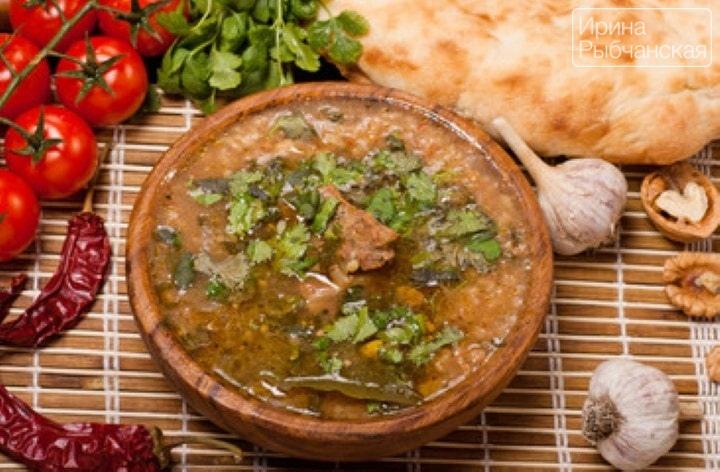 Как сварить суп харчо по самому простому рецепту