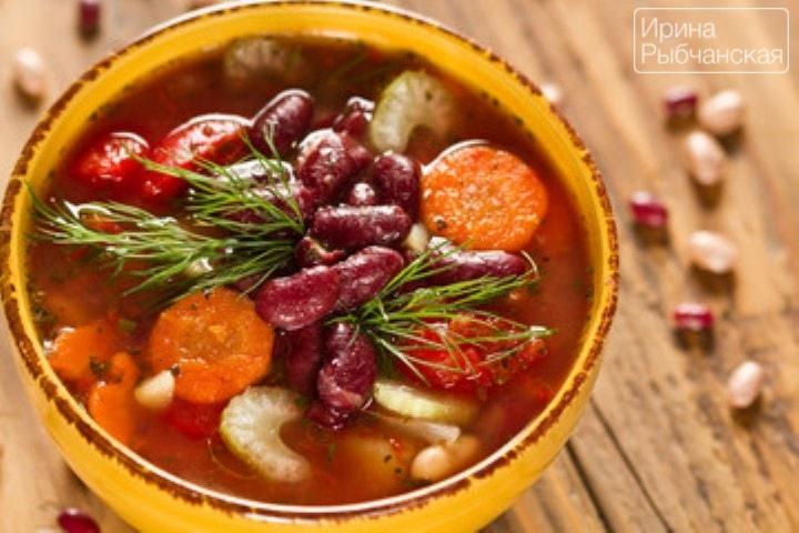 Миниатюра к статье Подберем рецепт фасолевого супа из красной фасоли на ваш вкус?