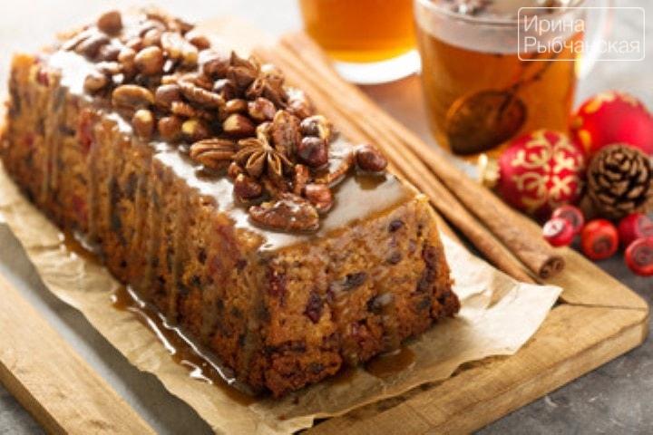 Английский рождественский кекс: идеален для любителей семейных традиций
