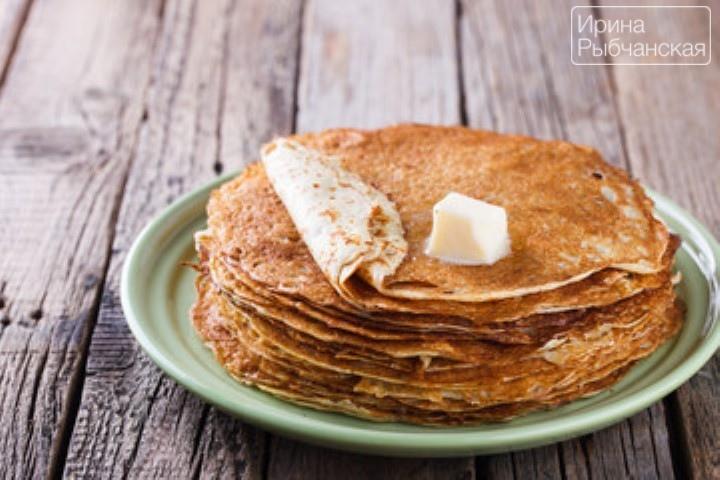 Тонкие блины с дырочками на молоке— рецепт приготовления с содой и дрожжами